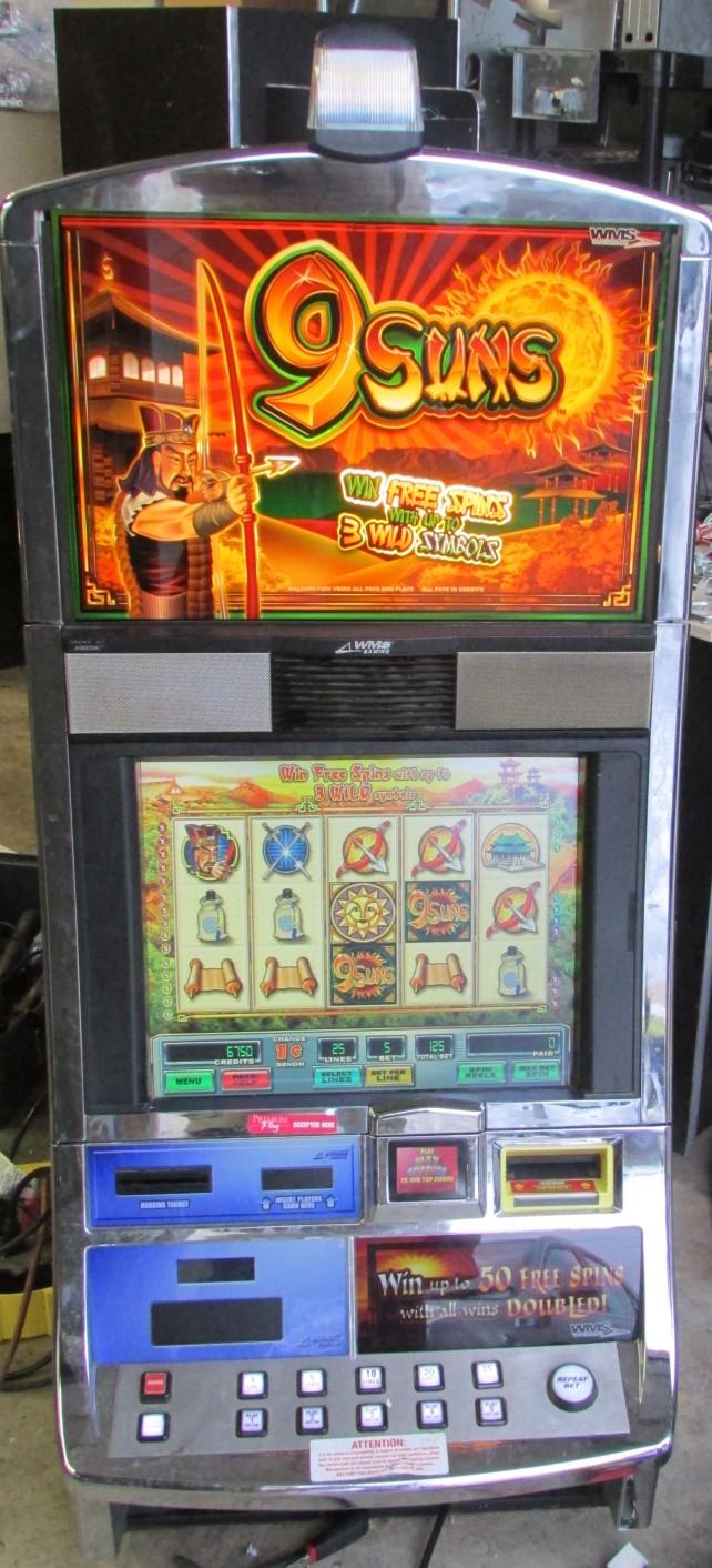 Williams slot machine manual