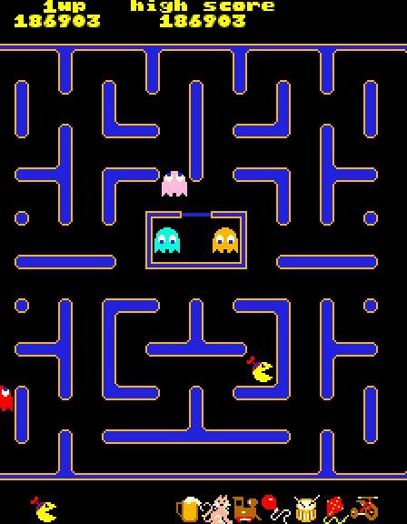 Jr Pac Man Top Line Slot Machines