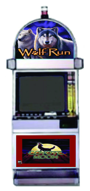IGT 2 Games in 1 - Coyote Moon & Wolf Run