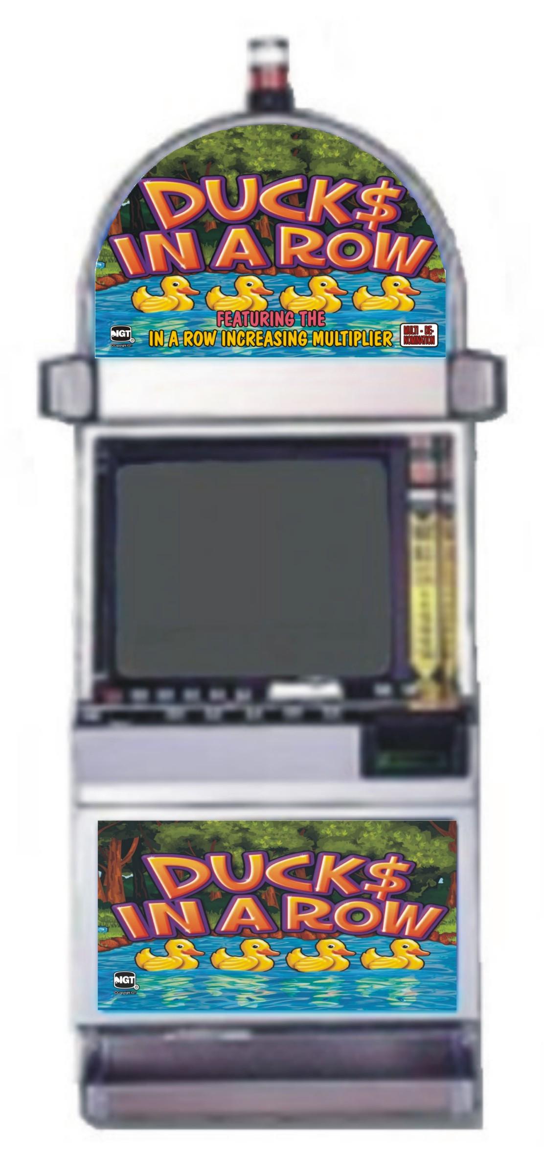 play ducks in a row slot machine