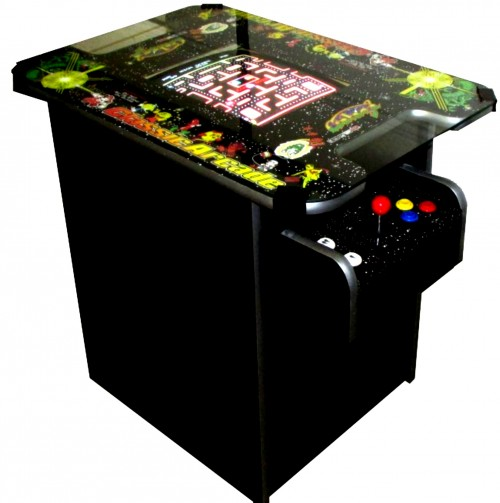 arcade machine side view