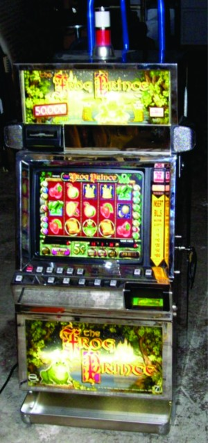 Fairytale Slot Machine Theme with The Frog Prince