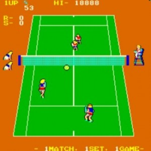 Super Doubles Tennis