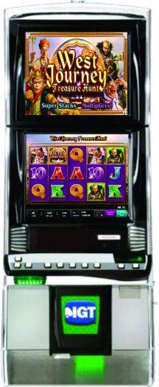 West Journey Treasure Hunt Slot Machine