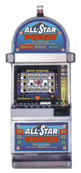 IGT All Star Poker - IGT Game King - 163 Games