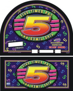 IGT Five Times Pay 5 reels