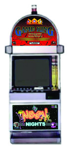 IGT Game King with Neon Nights - 12 Games - 9 Video Poker, 2 Keno Games & 1 Video Slots